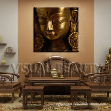 Famous Buddha Framed Canvas Print