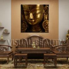 Buddha famoso impressão em canvas