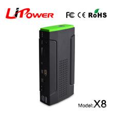 hot sale 2015 portable car jump starter multifunction power bank 13600mA with 12v/16v/19v dc output