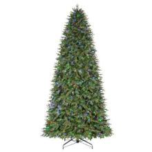 12 FT. Arbre de Noël artificiel pré-éclairé de Monterey de sapin avec des lumières changeantes de couleur (MY100.076.00)