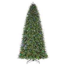 12 FT. Pre-Lit LED Monterey Fir Artificial Christmas Tree with Color Changing Lights (MY100.076.00)