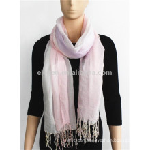 Gradient Colour Acrylic Scarf with fringe