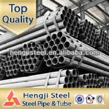 Especificaciones del tubo de acero redondo galvanizado