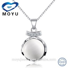 China jewelry opal pendant in silver gemstone pendant pearl pendant wholesale 925 silver jewerly