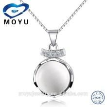 China jewelry opal pendant in silver gemstone pendant pearl pendant wholesale 925 silver jewerly