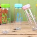 Bunte meine Flasche Kunststoff Sport Trinkwasserflasche (SLSB05)