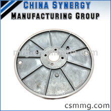 Rouleau en aluminium moulé en fonte moulé en aluminium personnalisé fabriqué en Chine