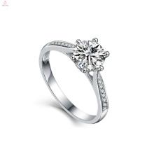 2018 Frauen Engagement Hochzeit Schmuck Bule S925 Sterling Silber Zirkon Ringe