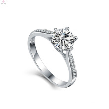 2018 Women Engagement Wedding Jewelry Bule S925 Sterling Silver Zircon Rings