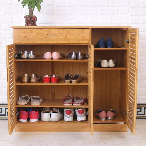 Eco-Friendly Bamboo Shoes Rack