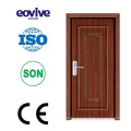 high quality interior bathroom wood flush PVC door profile
