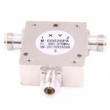 350-370mhz F MALE Faible Insertion vhf rf Coaxial Circulateur