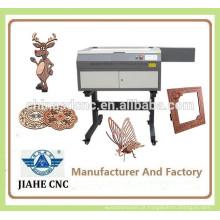 Preço baixo!!! máquina de corte do papel plástico mdf madeira couro acrílico tecido CO2 laser preço