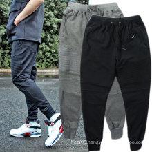 Plain Skinny Mens Joggers Pants Casual Trousers Cotton