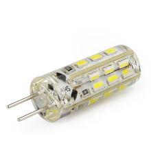 1.5W G4 refroidissent le projecteur blanc de la lumière LED 3014 SMD LED la lampe d'ampoules DC12V