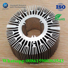 Aluminum Alloy Die Casting Tubular LED Heat Sink Housing