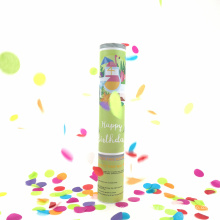 12 '' nuevo producto multicolor Confeti Party Popper para la celebración de la fiesta de cumpleaños
