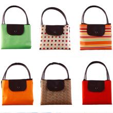 Großhandel billig wiederverwendbare Polyester Einkaufstasche (SP-402)