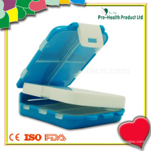 Folding Plastic Medicine Storage Pill Box
