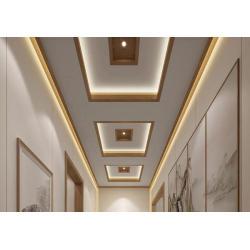 Bamboo style decorative wall