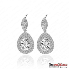 Korea Lady Water Drop Earrings Hot (CER0034-B)
