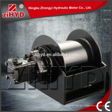 500 Displacement hydraulic traction winch
