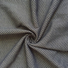 Goods high definition for Cotton Fabric CVC yarn dyed honeycomb knitting fancy fabric export to Bouvet Island Supplier