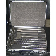 SDS Plus Drill& Chisel Set with Alu Case