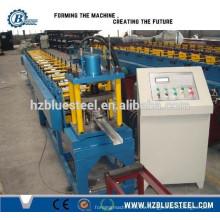 Automático de alta velocidad CE Europea estándar PLC Control CZ Canal de pista y pernos Roll Formación de línea de producción