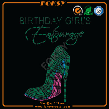 Brithday Girl Entourage heat transfers wholesale