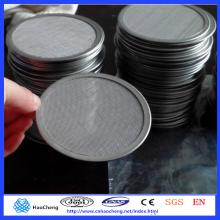0,5 10 15 20 30 60 90 Porosität Porosität Gesinterte Edelstahl Filterscheibe