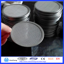 0.5 10 15 20 30 60 90 Microns Porosity Sintered Stainless Steel Filter Disc