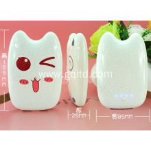 cute Mini Portable External Battery Charger Power Bank
