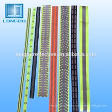 material de cinta reflectante para la ropa