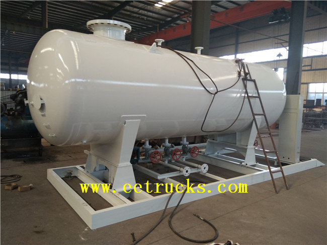 Skid Mounted LPG Tanks