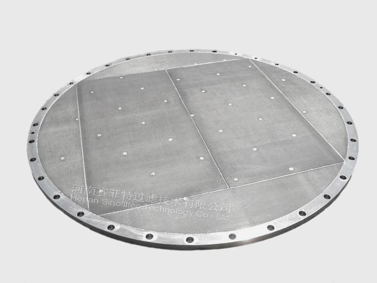 Sintered Porous Metal Filter Disc