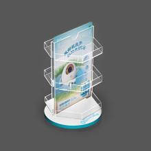 Custom Acrylic Display Rack With Photo Frame