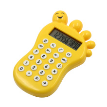 Cute Foot Shape Pocket Calculator with Game Calculator