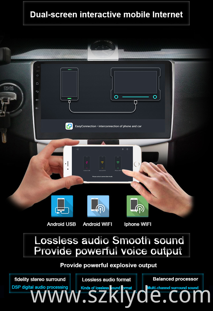 new Clio Android 9 0 car dvd China Manufacturer