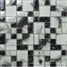 Mosaïque en verre cristallisé fissuré (HGM282)