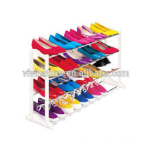 20 pairs folding plastic shoe rack