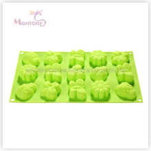 FDA & LFGB Bakeware Baking 15-Insects-Shaped Silicone Cake Mold