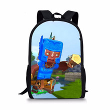 Custom Design Polyester Students Children School Bags Students Backpack Printing Bookbags for Teens Girls and Boys
