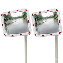 Outdoor Safety Reflective Square Rectangular Convex Mirror, Reflective Convex and Concave Mirror/
