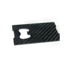 Carbon Fiber Money Clip Card Holder Cash Clip