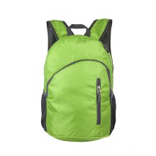 Wholesale light weight travel  sports foldable knapsack waterproof camping bag  polyester folding bag for Travel outdoors