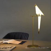 Nordic Desgin Thousand Paper Cranes Bird LED Table Lamp For Living Room Bedroom Bedside Nightstand Light