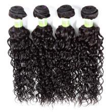 Pode ser tingido extensão do cabelo humano trama dupla tecelagem encaracolado afro para as mulheres