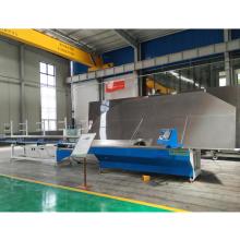 Máquina de dobra de estrutura de alumínio de vidro isolante