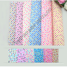 Hot Sale Stock 100%Polyester Printed Microfiber DOT Fabric Width 150cm for Hometextile